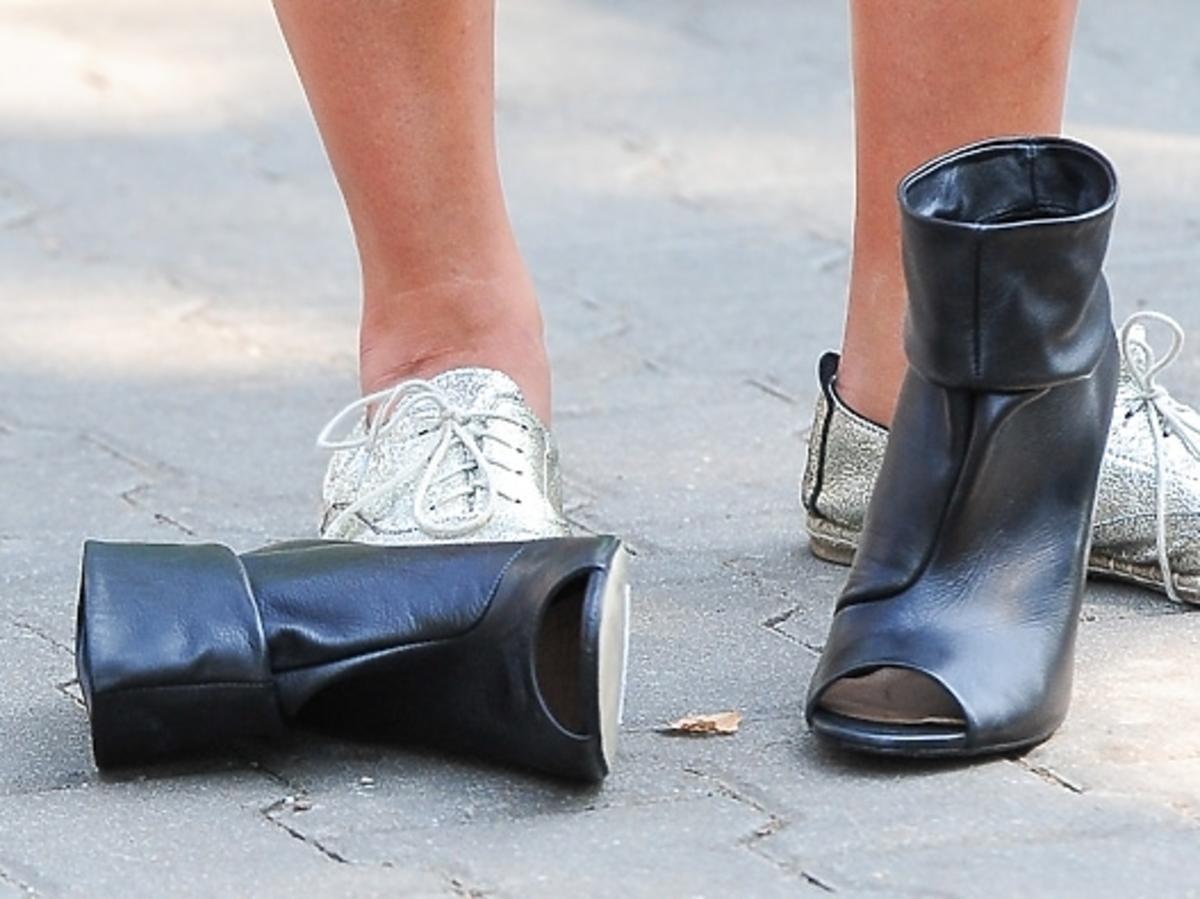 Która gwiazda woli sportowe buty zamiast szpilek?