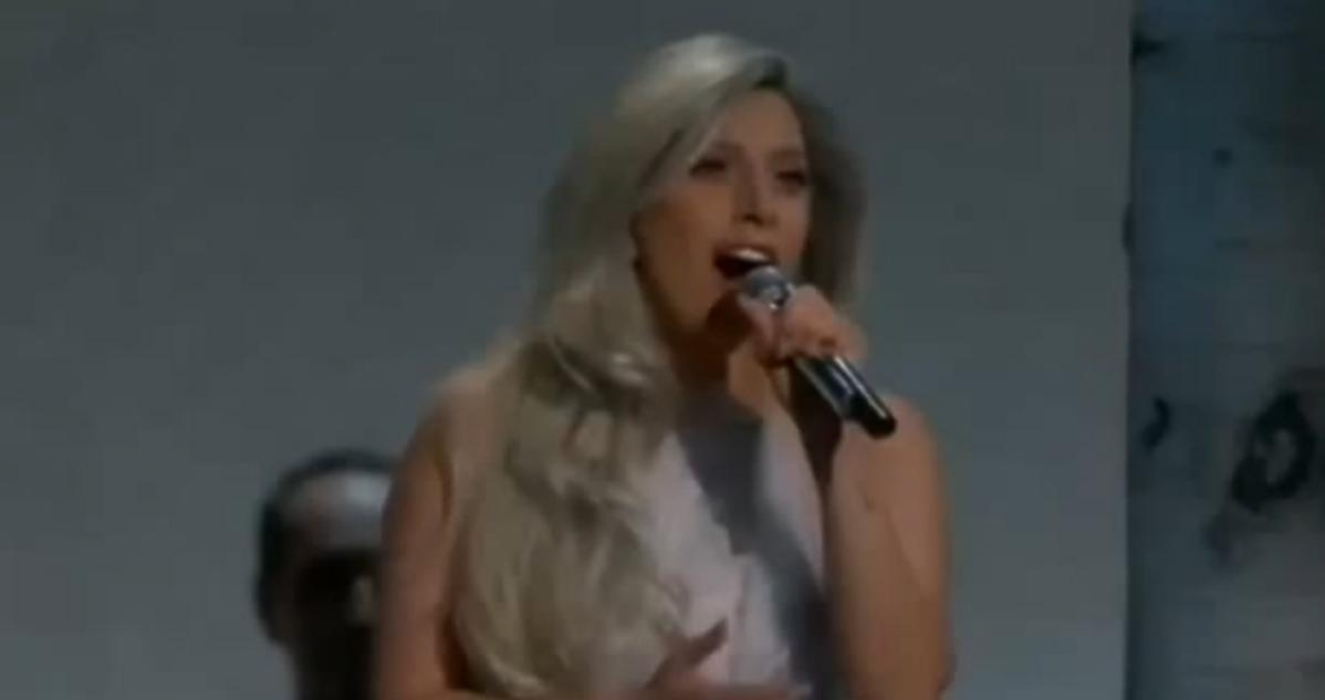 Lady GaGa na Oscarach 2015