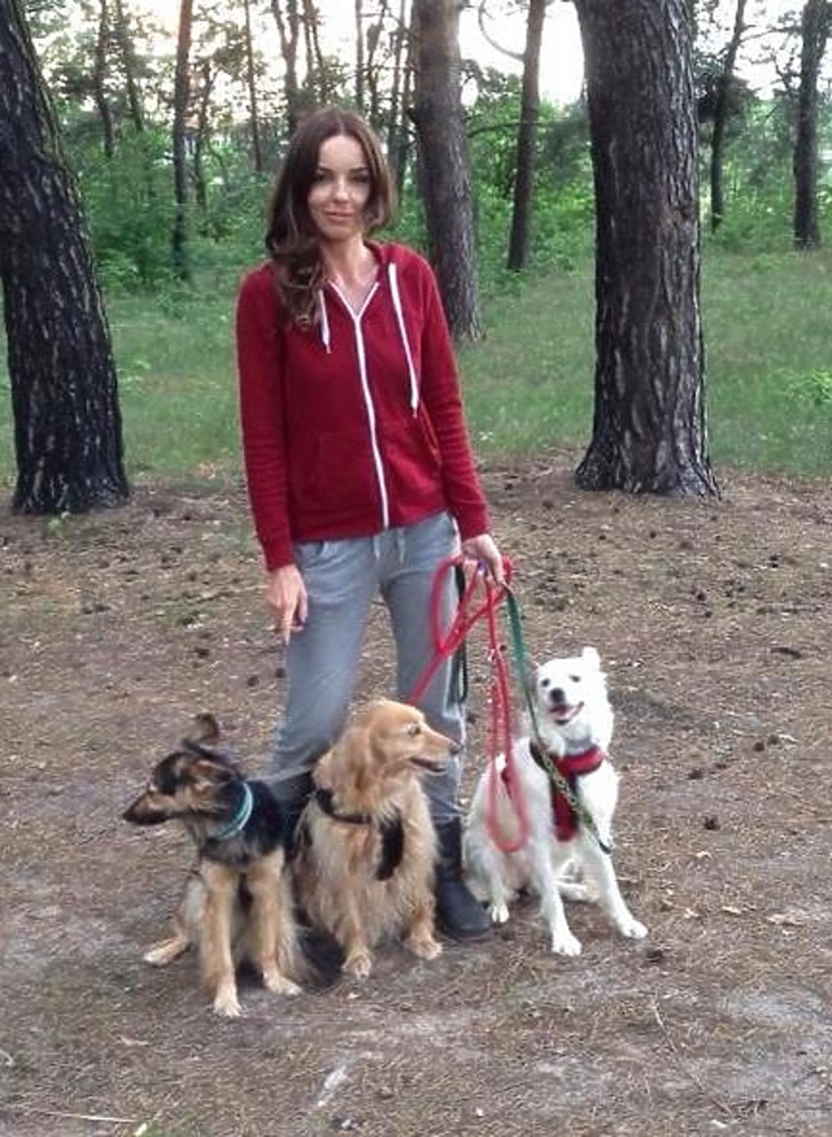 Leon nowy trzeci pies Agnieszki Włodarczyk i Mikołaja Krawczyka