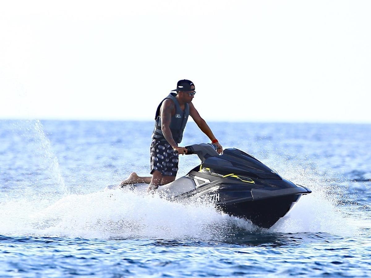 Lewis Hamilton i Rihanna na wakacjach