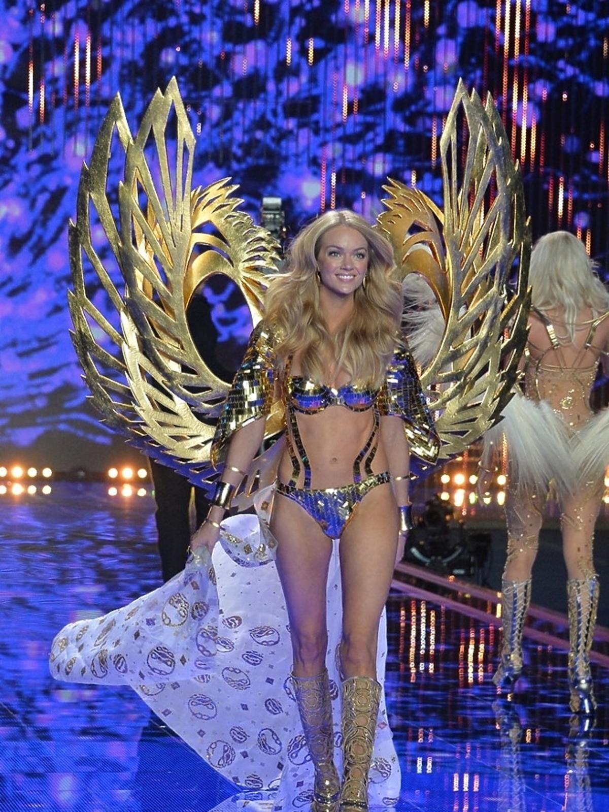 Lindsay Ellingson na pokazie Victoria's Secret 2014