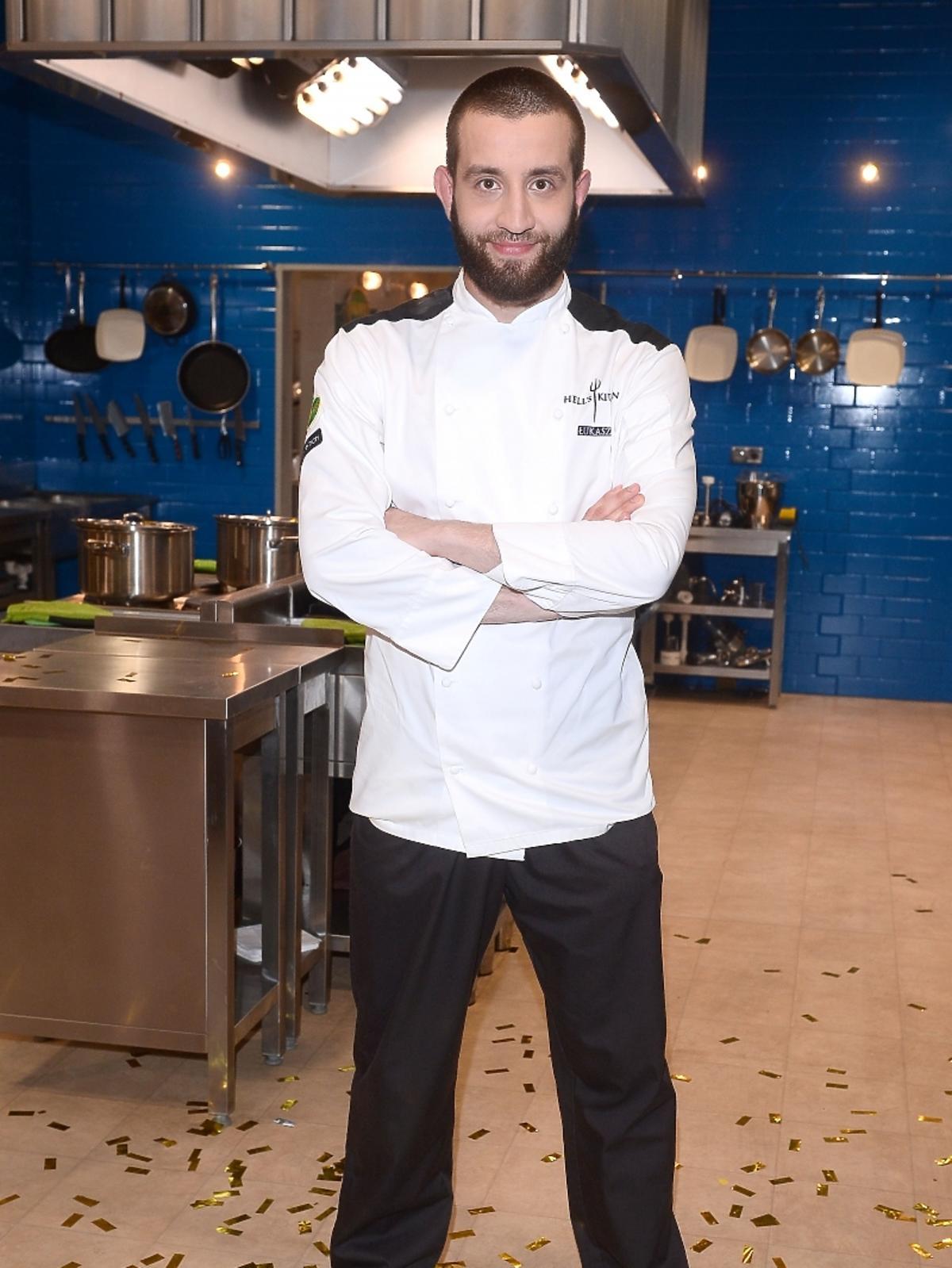 Łukasz Kawaller na finale Hell's Kitchen Polska