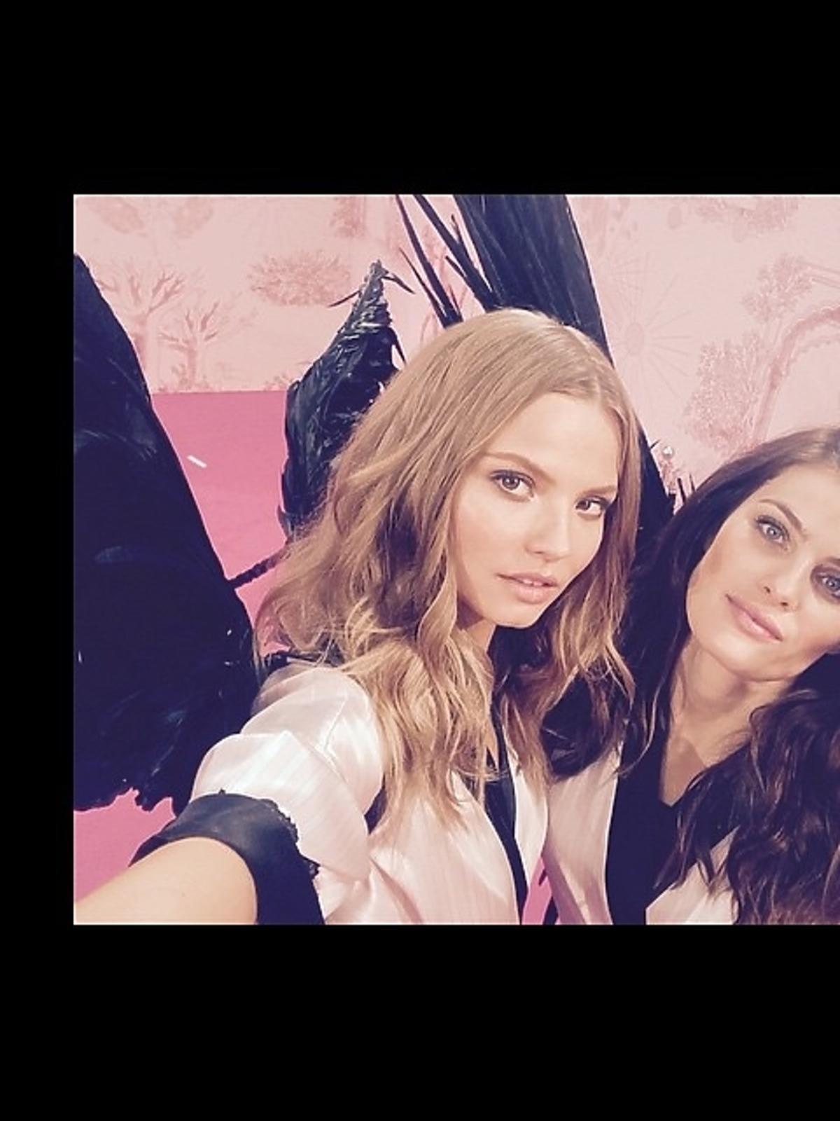 Magda Frąckowiak na pokazie Victoria's Secret