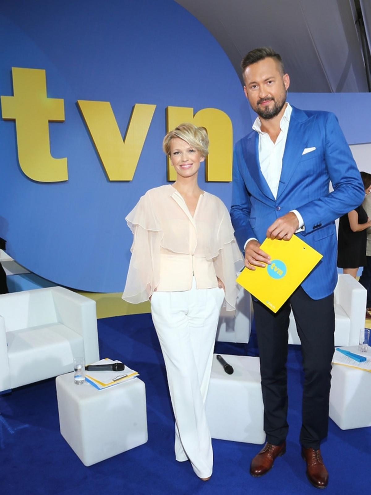 Magda Mołek i Marcin Prokop na jesiennej ramówce TVN