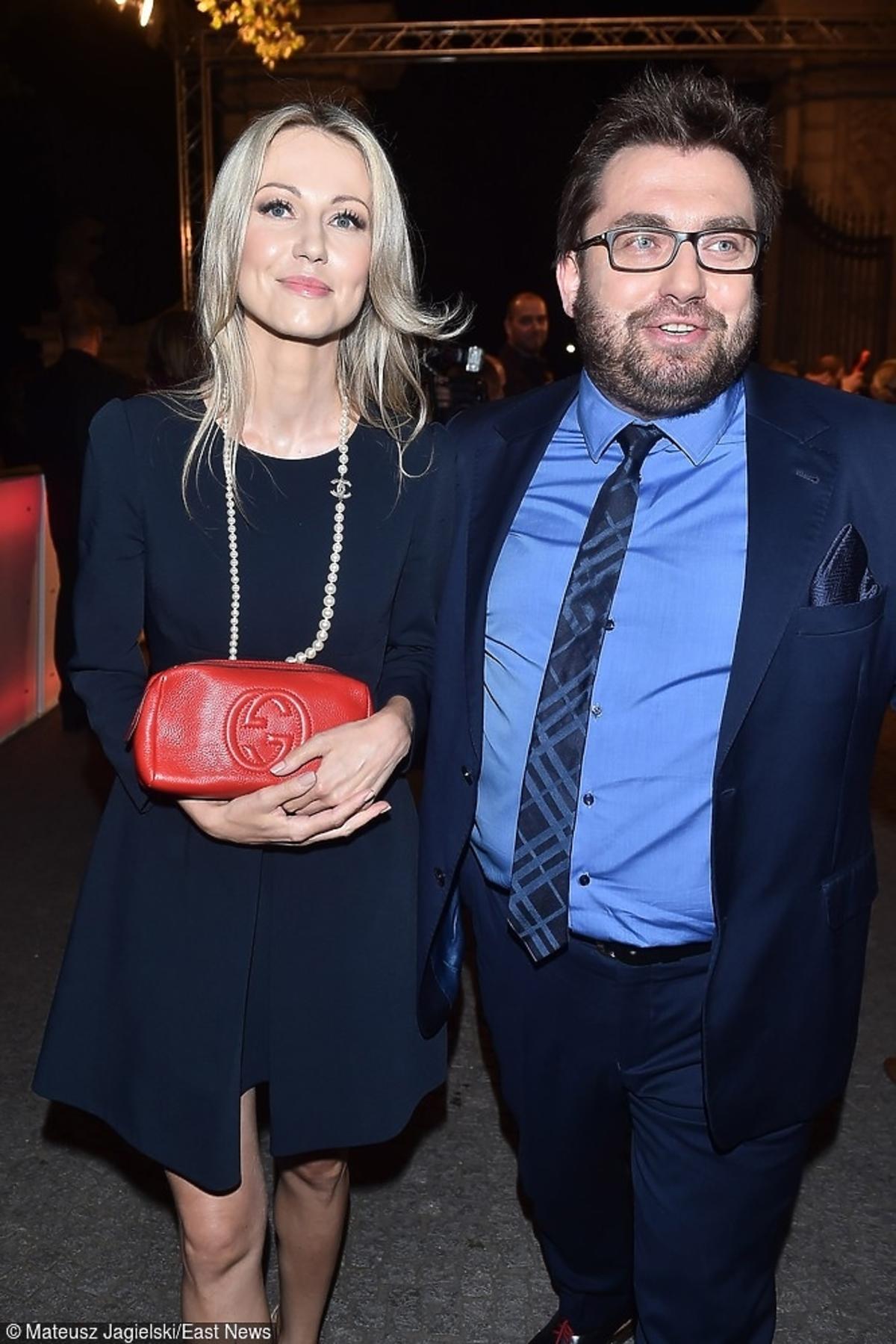 Magdalena Ogórek i Bartosz Węglarczyk razem na czerwonym dywanie