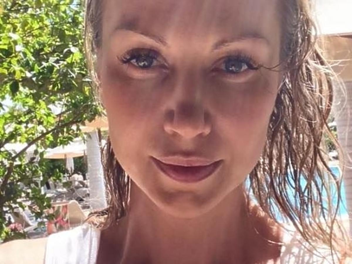 Magdalena Ogórek na wakacjach