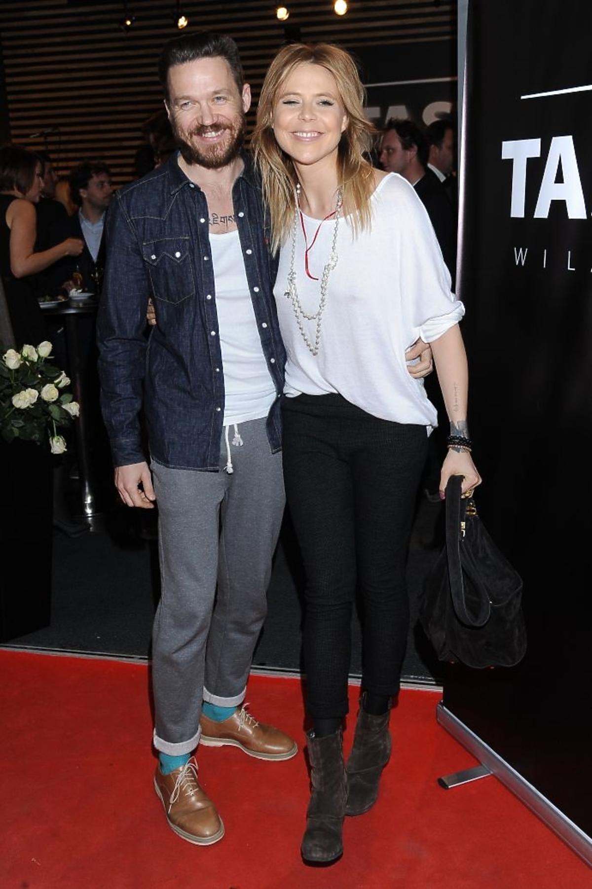 Maja Sablewska i Wojciech Mazolewski na otwarciu restauracji Taste Wilanów