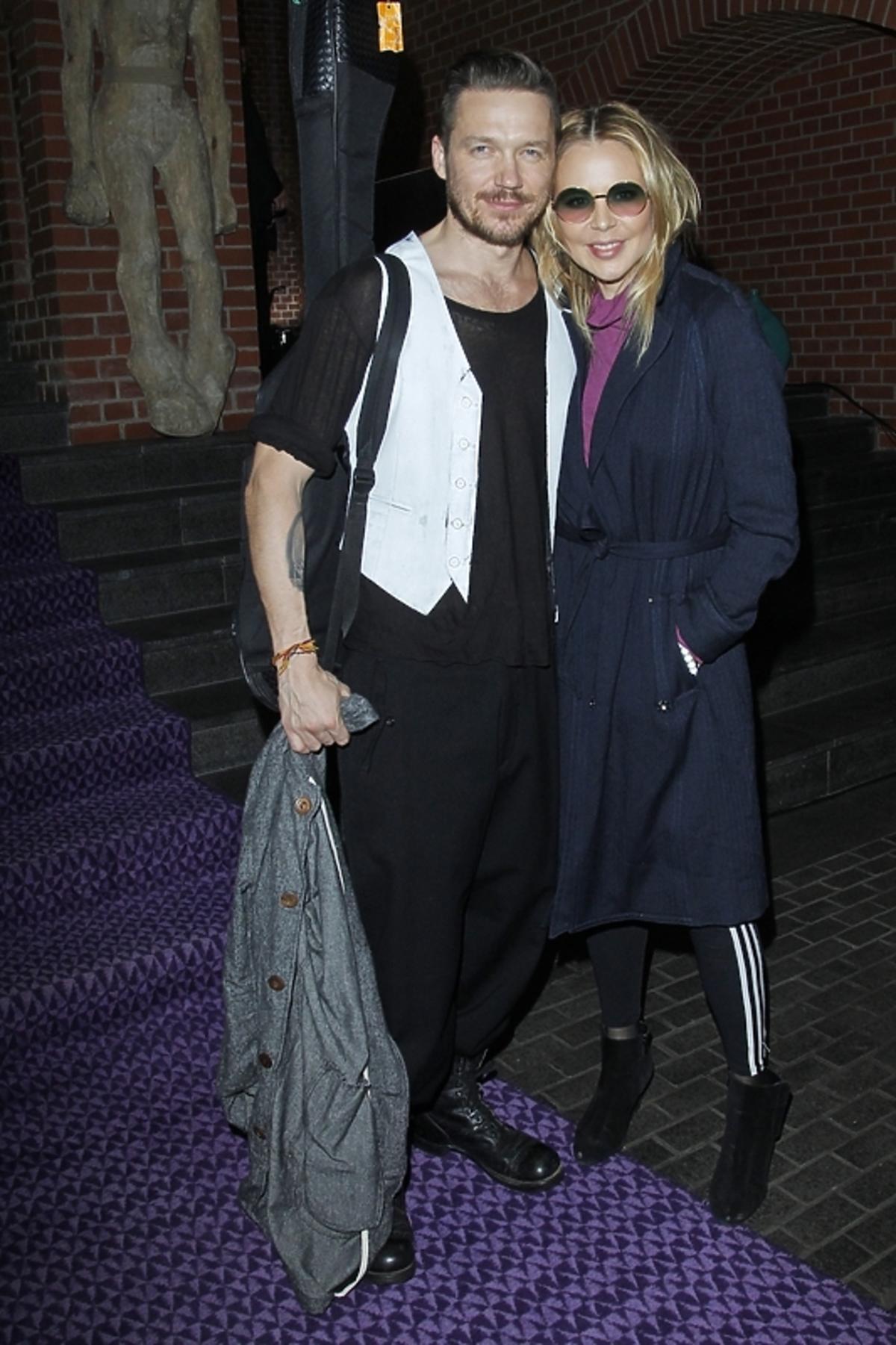 Maja Sablewska i Wojtek Mazolewski na Art & Fashion 2013