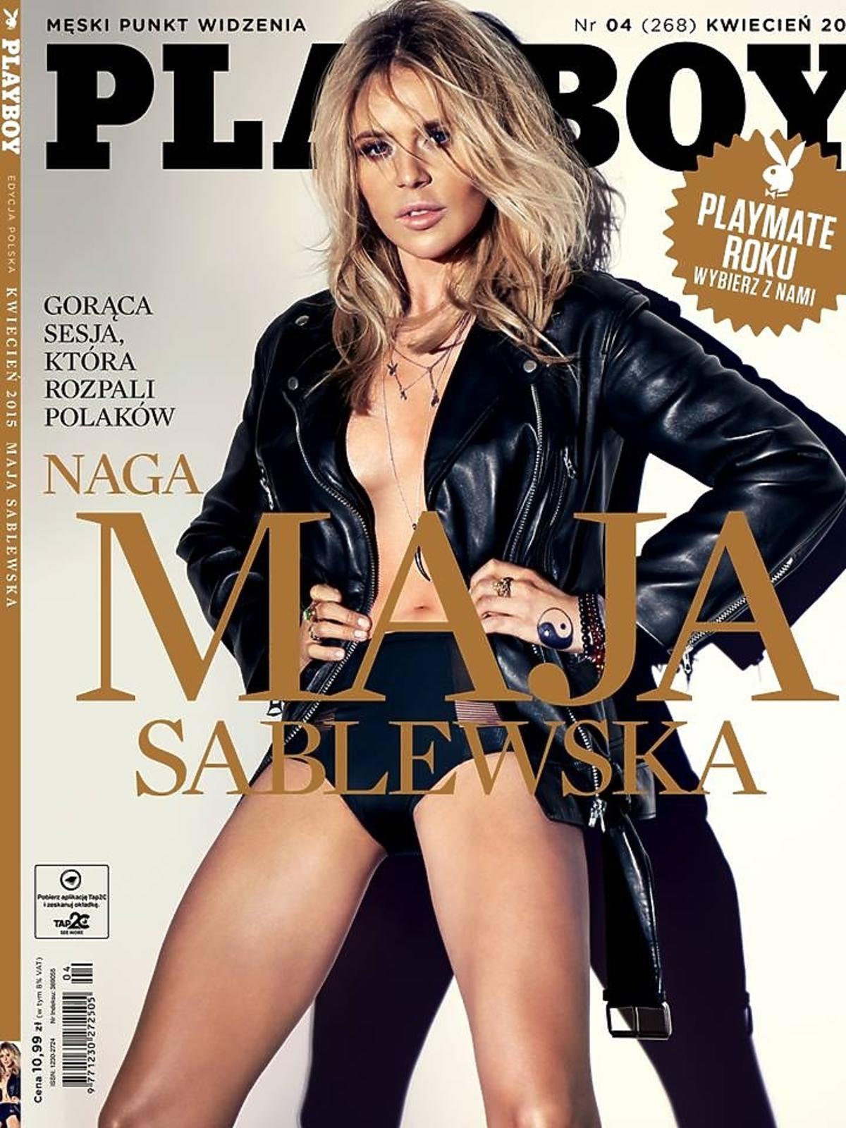 Maja Sablewska na okładce Playboya
