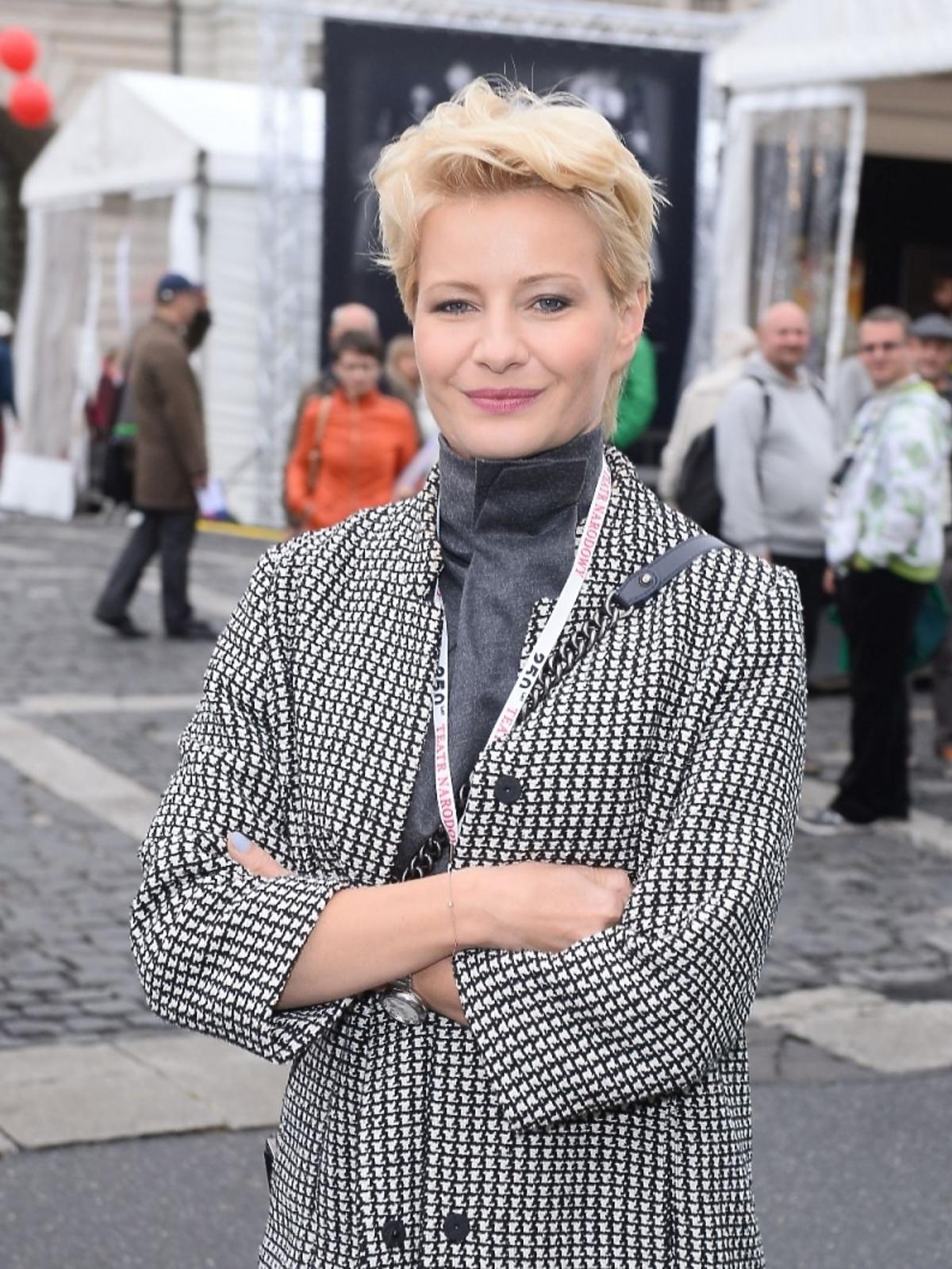 Małgorzata Kożuchowska na Festiwalu Teatralnym