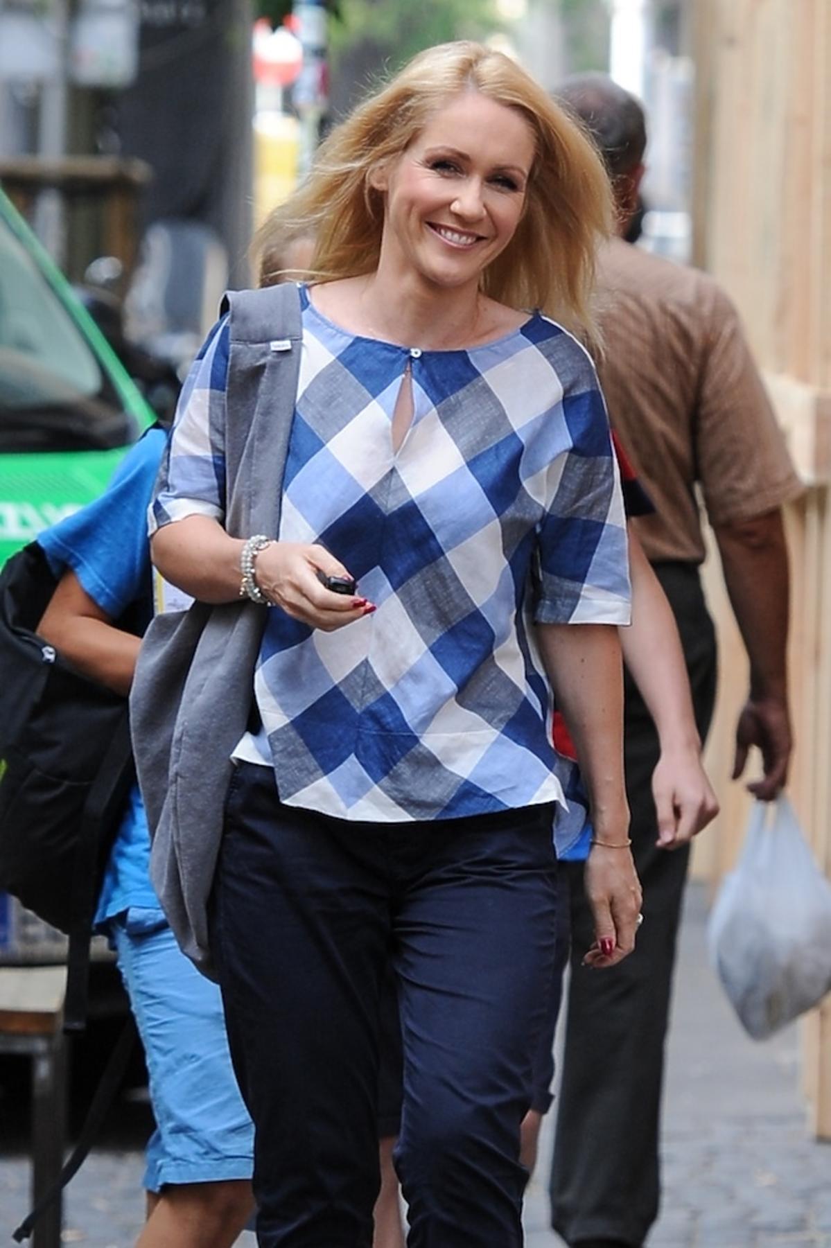Małgorzata Ohme na ulicy