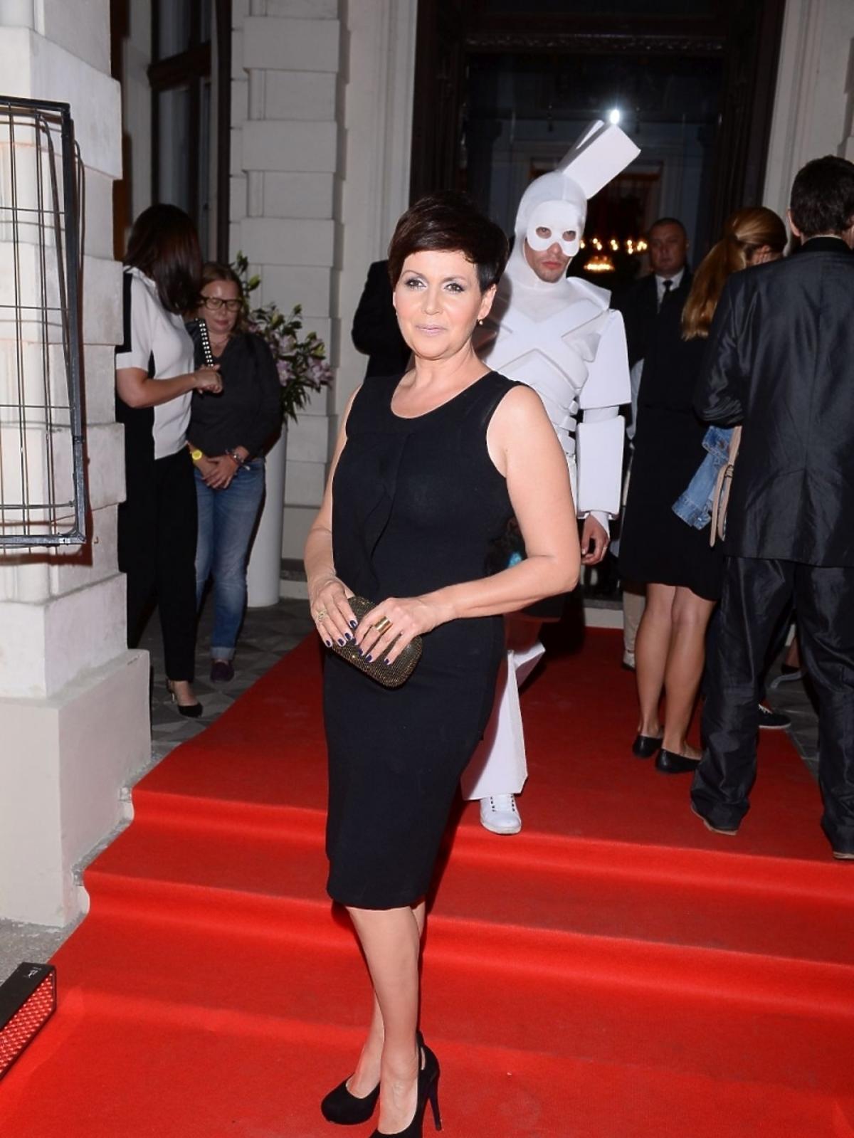 Małgorzata Pieńkowska na jesiennej ramówce Polsatu 2015