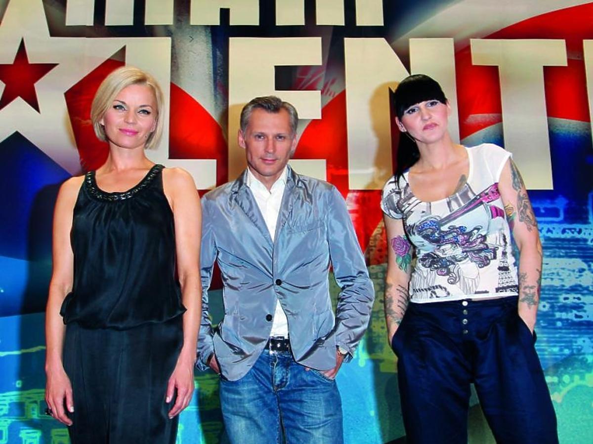 Mam talent!, Małgorzata Foremniak, Robert Kozyra, Agnieszka Chylińska