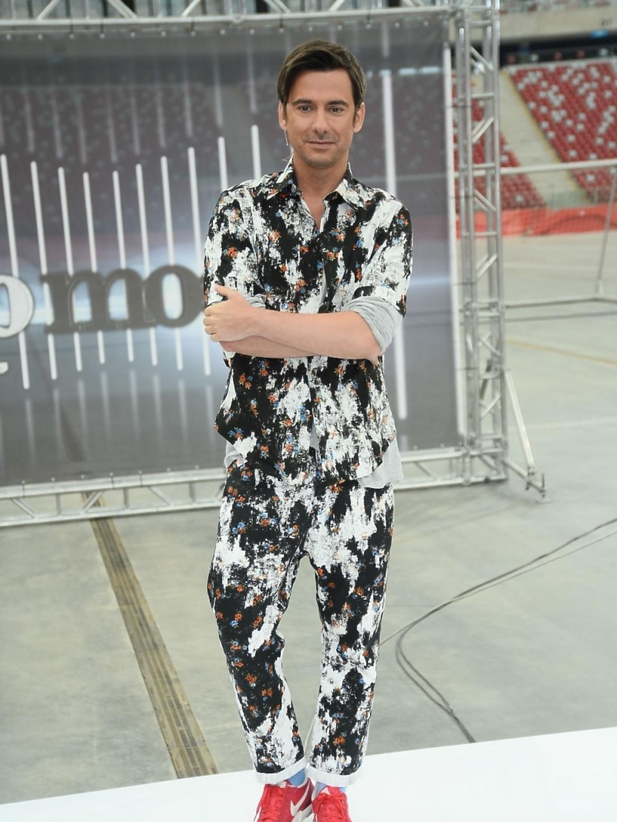 Marcin Tyszka, casting do piątej edycji Top Model