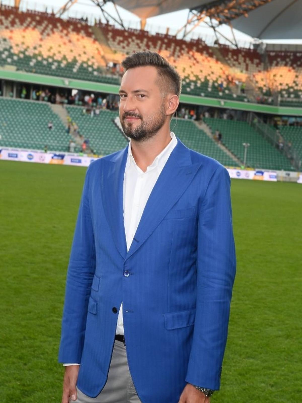 Marcina Prokop na meczy TVP kontra TVN