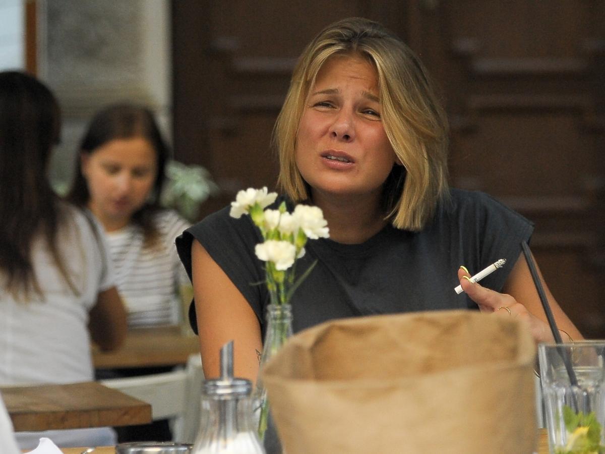 Marta Wierzbicka na kolacji z Zosią Zborowską