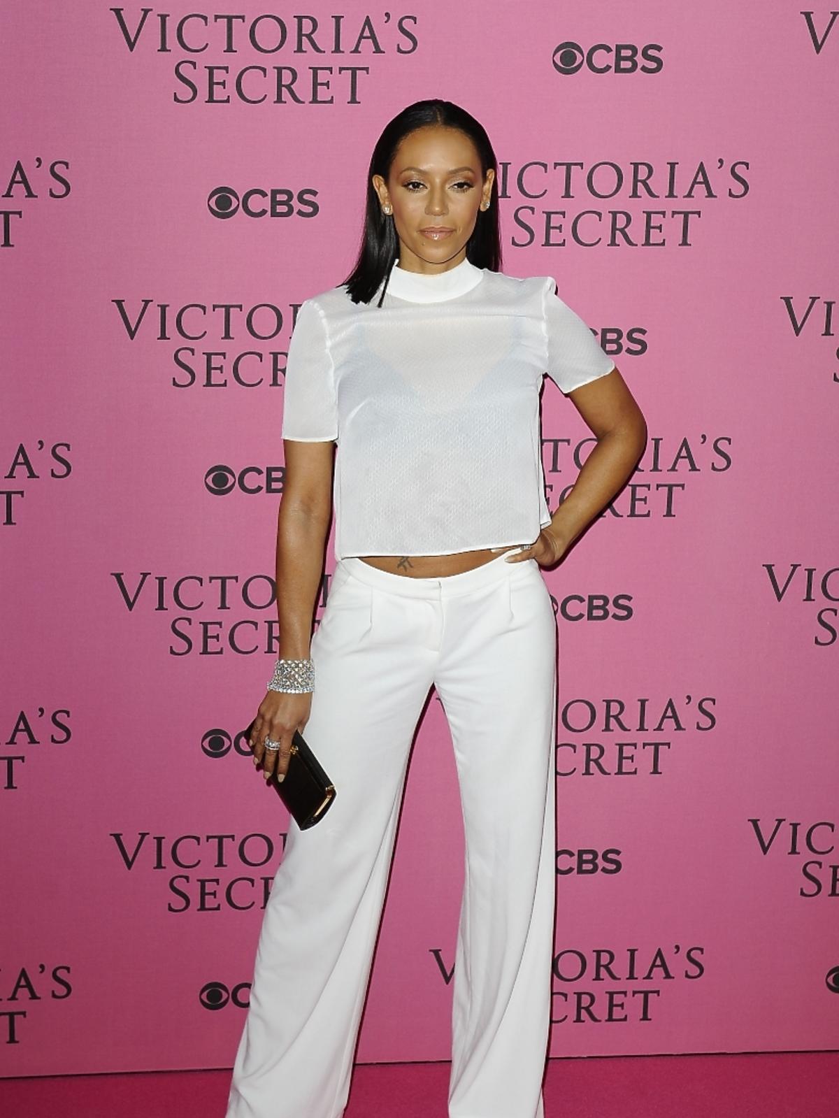 Mel B na pokazie Victoria's Secret 2014