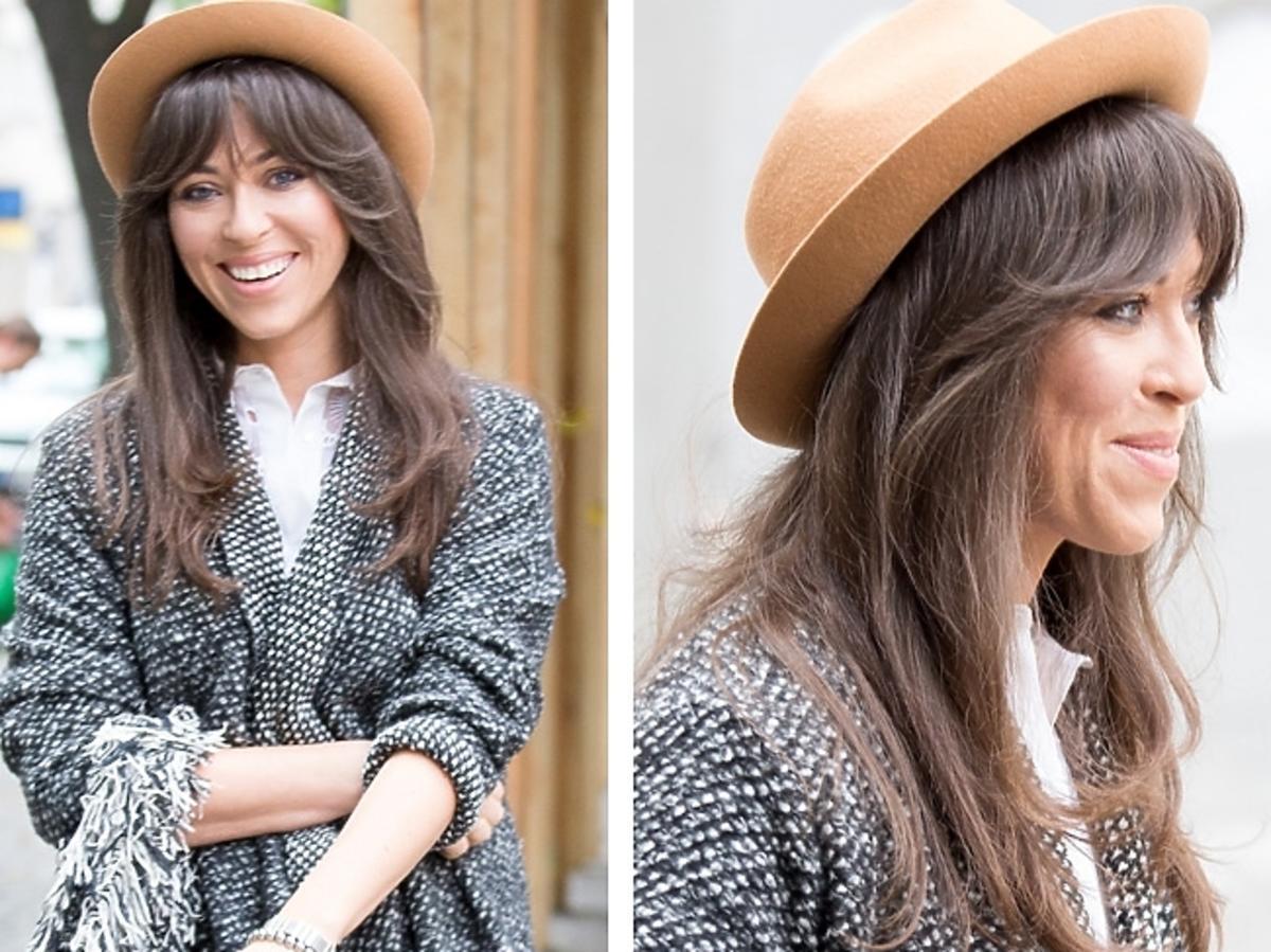 Natalia Kukulska w kapeluszu