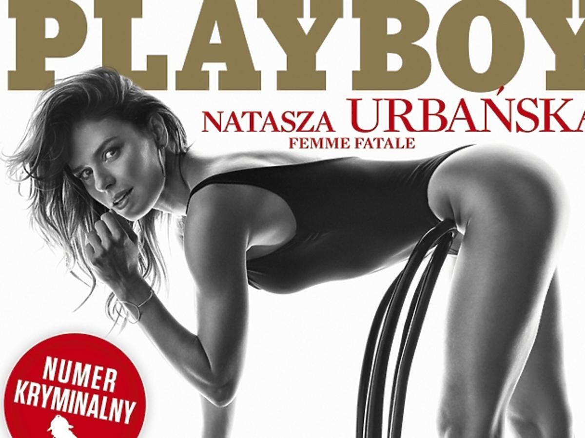 Natasza Urbańska na okładce Playboya