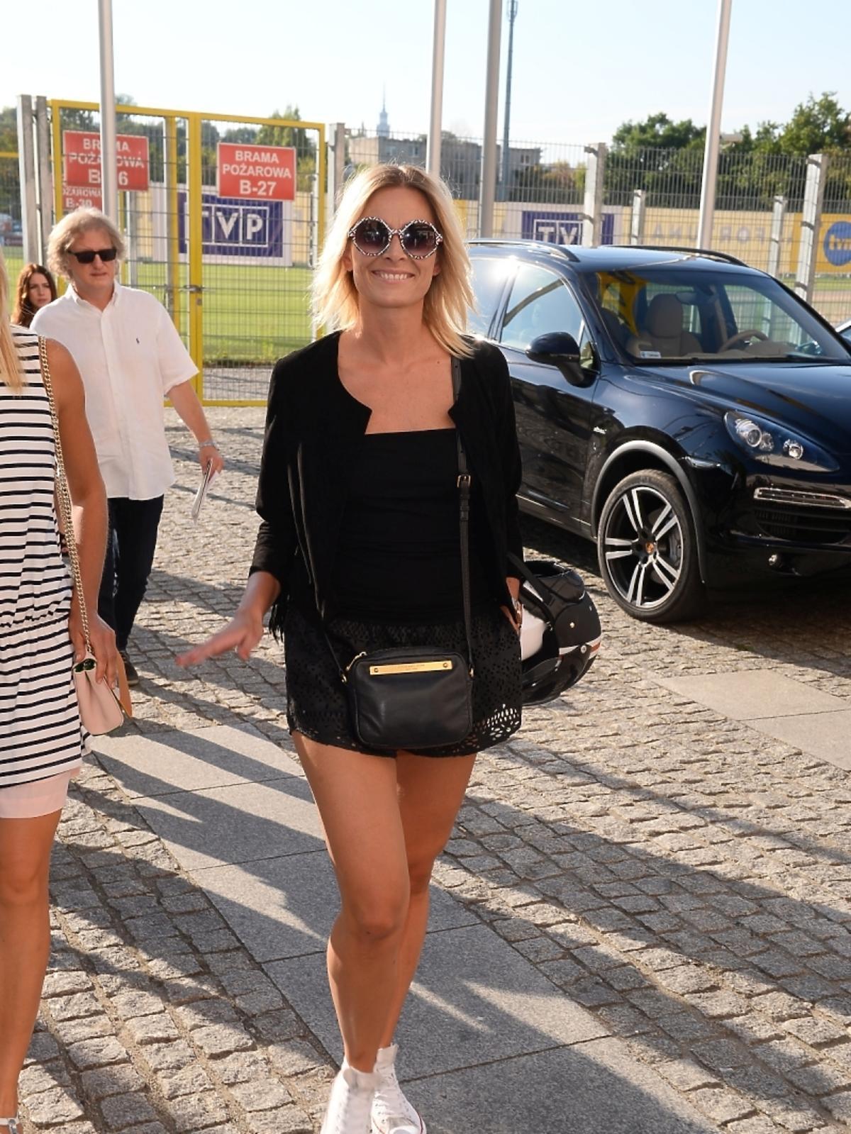 Odeta Moro mecz Gwiazdy TVP kontra Gwiazdy TVN 2015