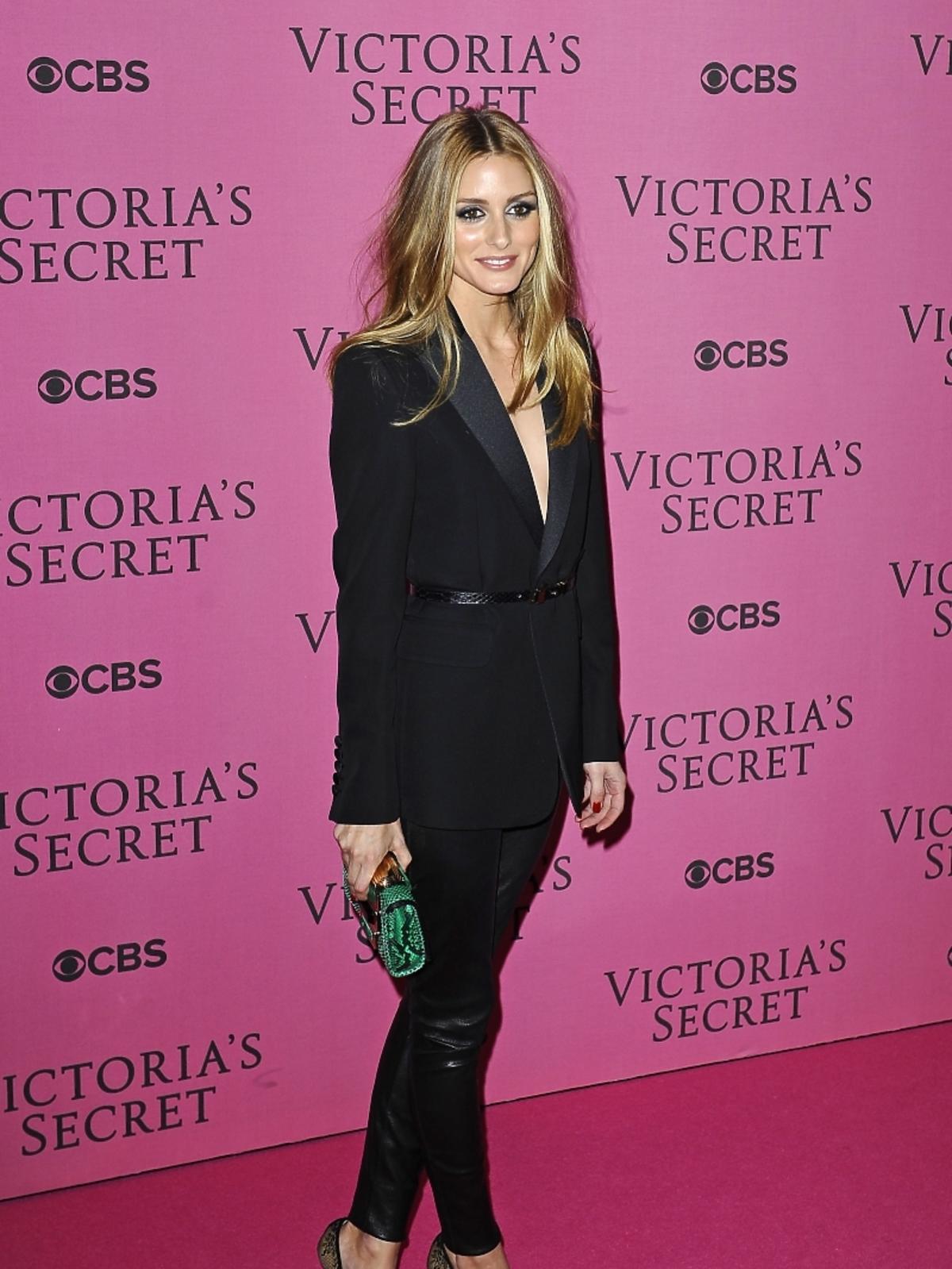 Olivia Palermo na pokazie Victoria's Secret 2014