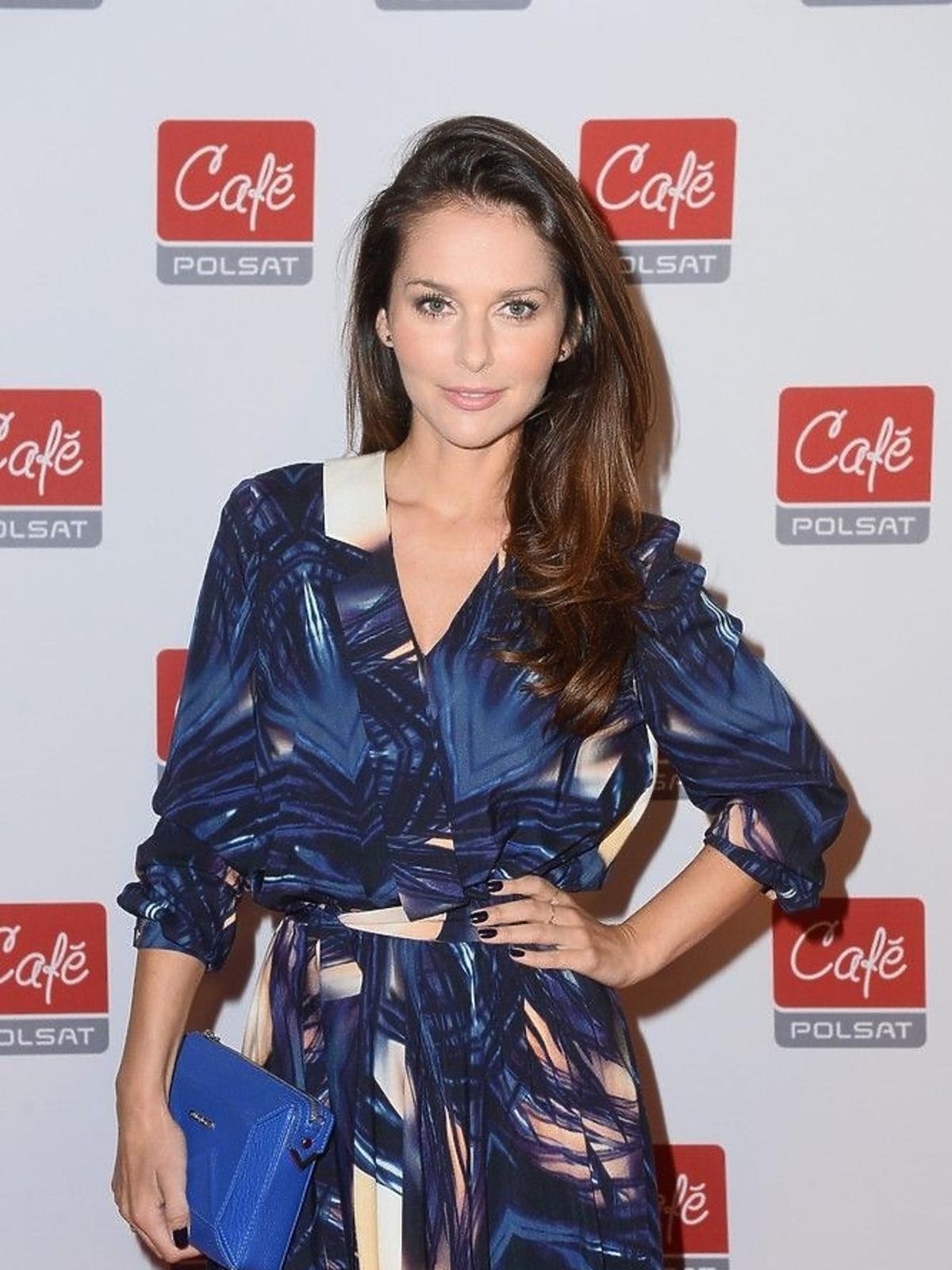 Paulina Sykut na konferencji Polsat Cafe