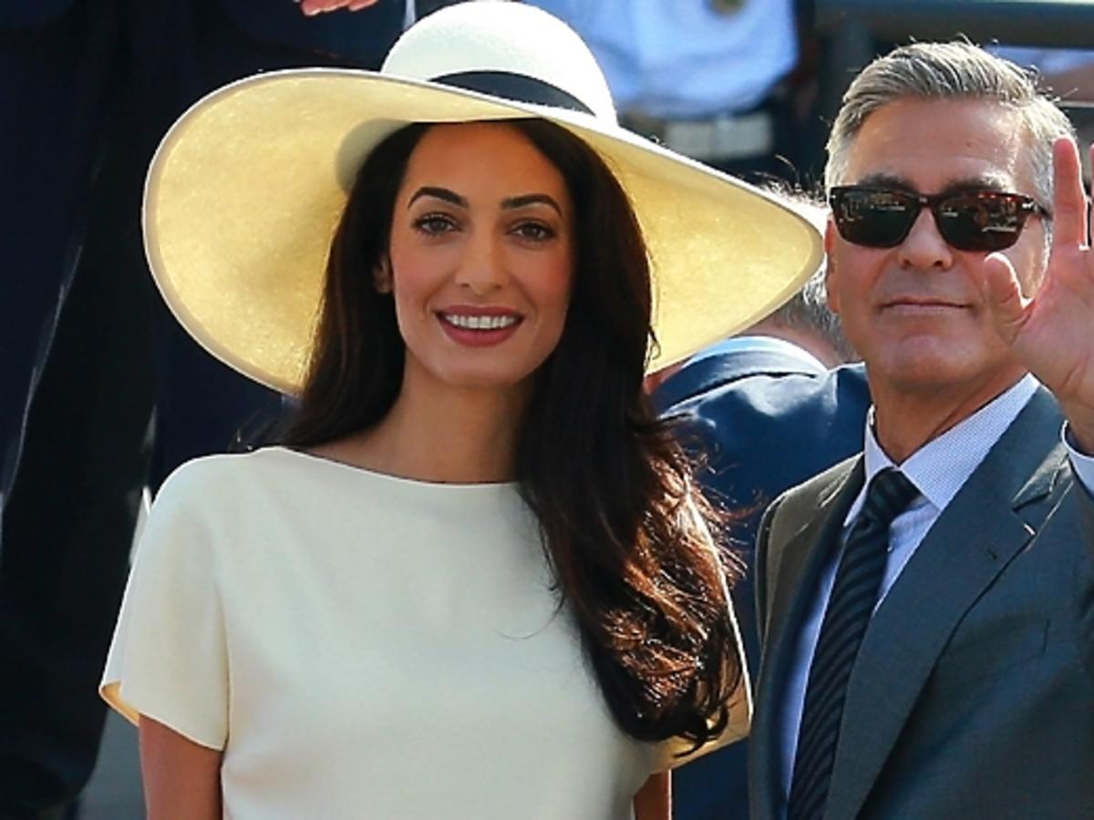 Prezent ślubny George Clooney'a