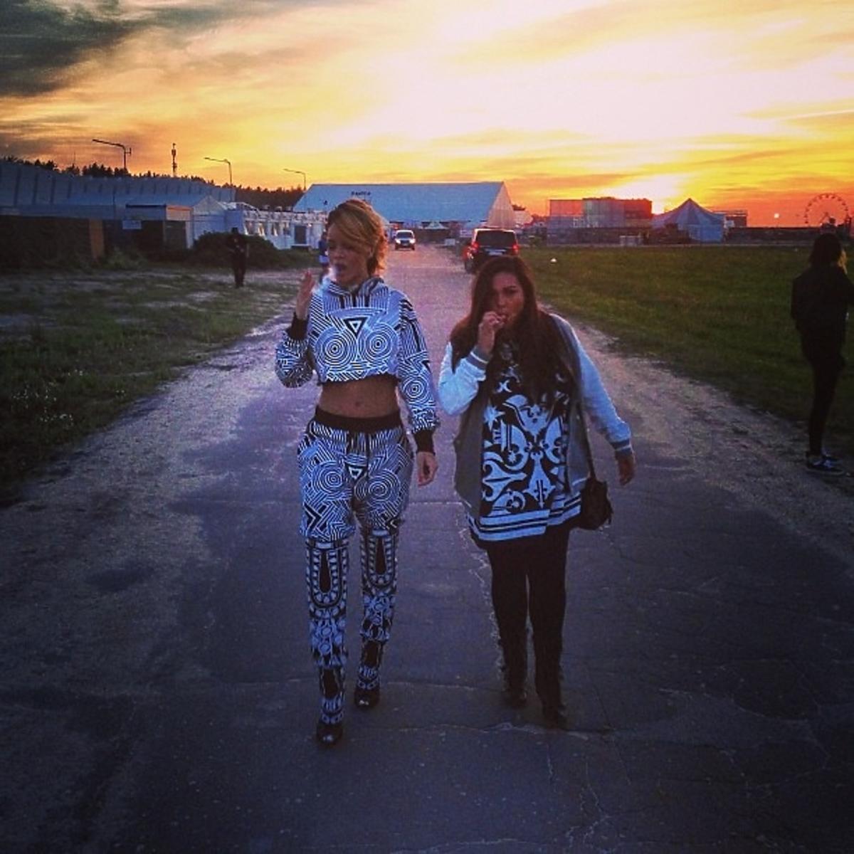 Rihanna w Polsce. Rihanna na Heineken Open'er Festiwal 2013