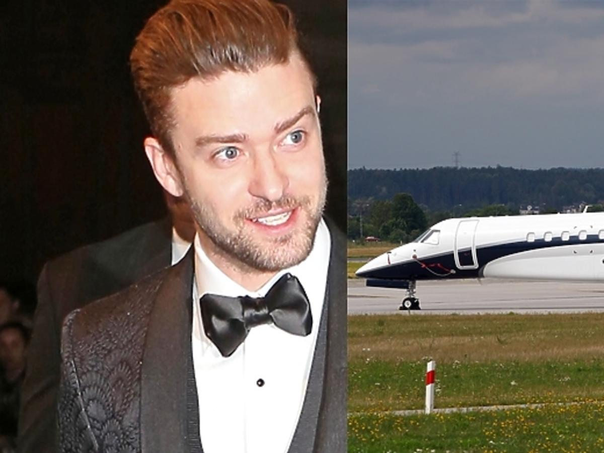 Samolot Justina Timberlake'a