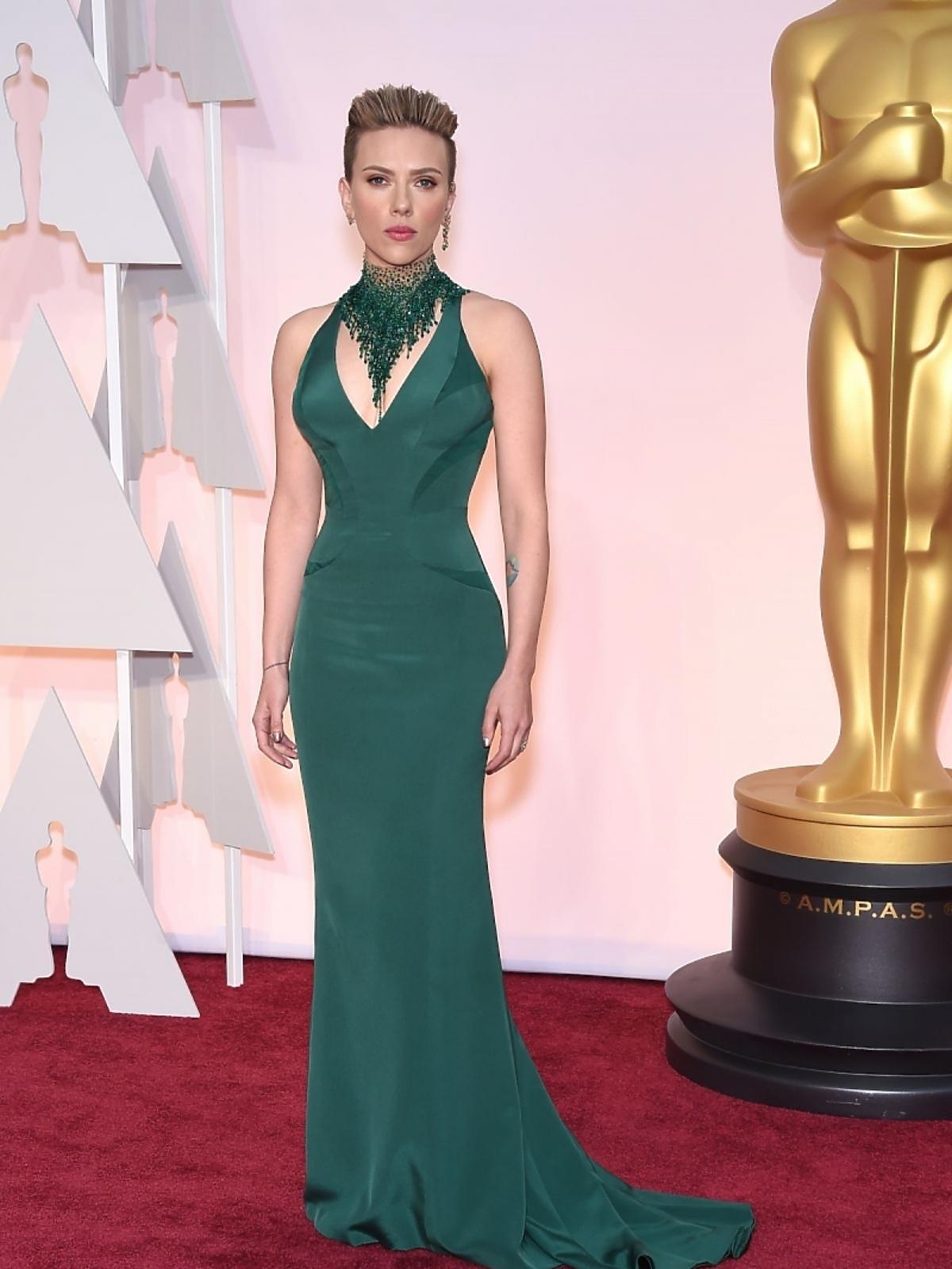 Scarlett Johanson na gali Oscary 2015