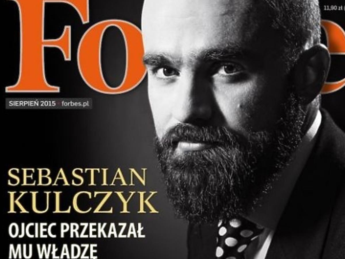 Sebastian Kulczyk na okładce Forbes