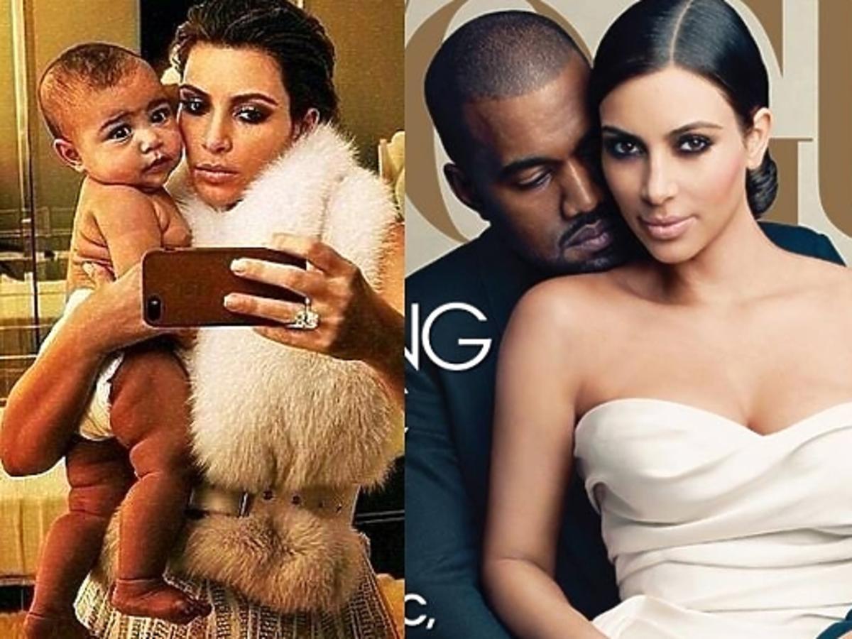 Sesja Kim Kardashian w Vogue