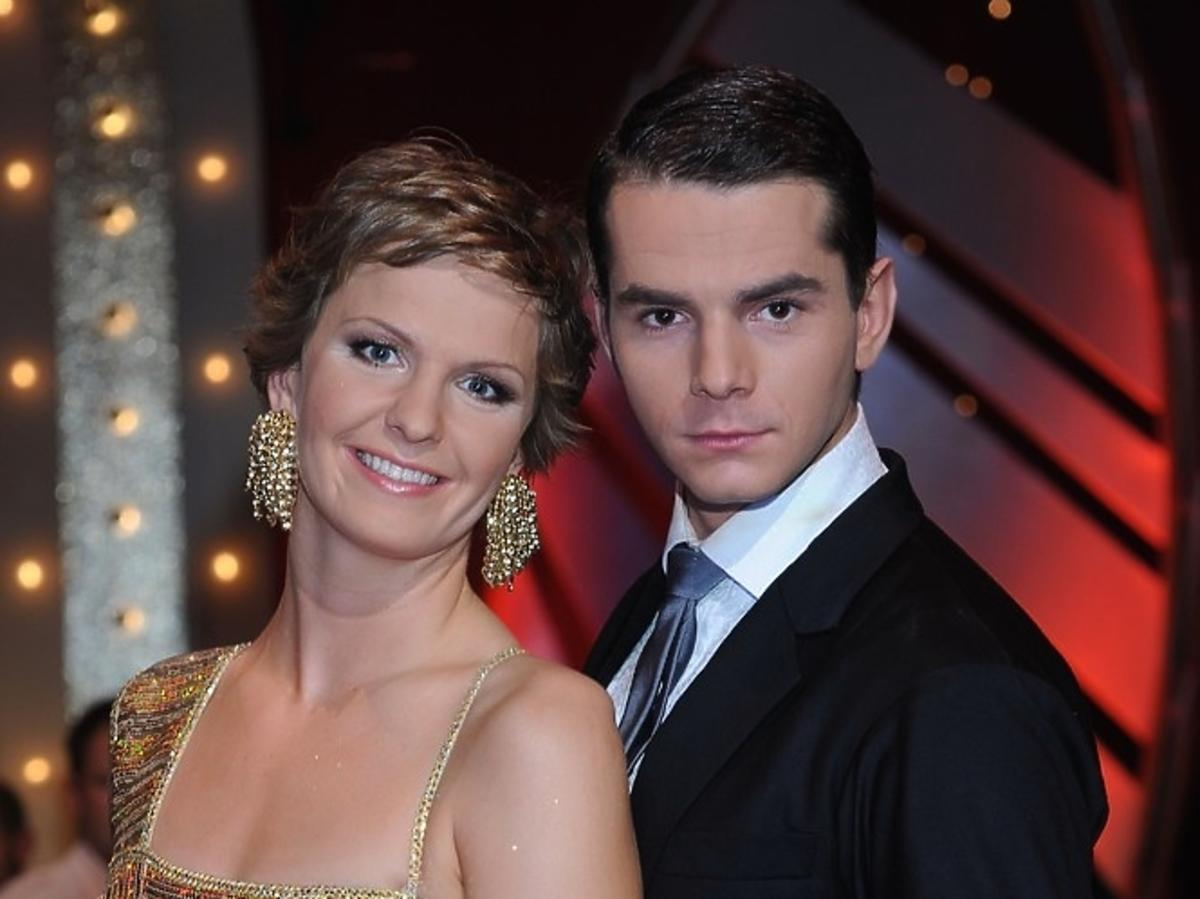 Sławek Tursk i Otylia Jędrzejczak w Tańcu z Gwiazdami 2009