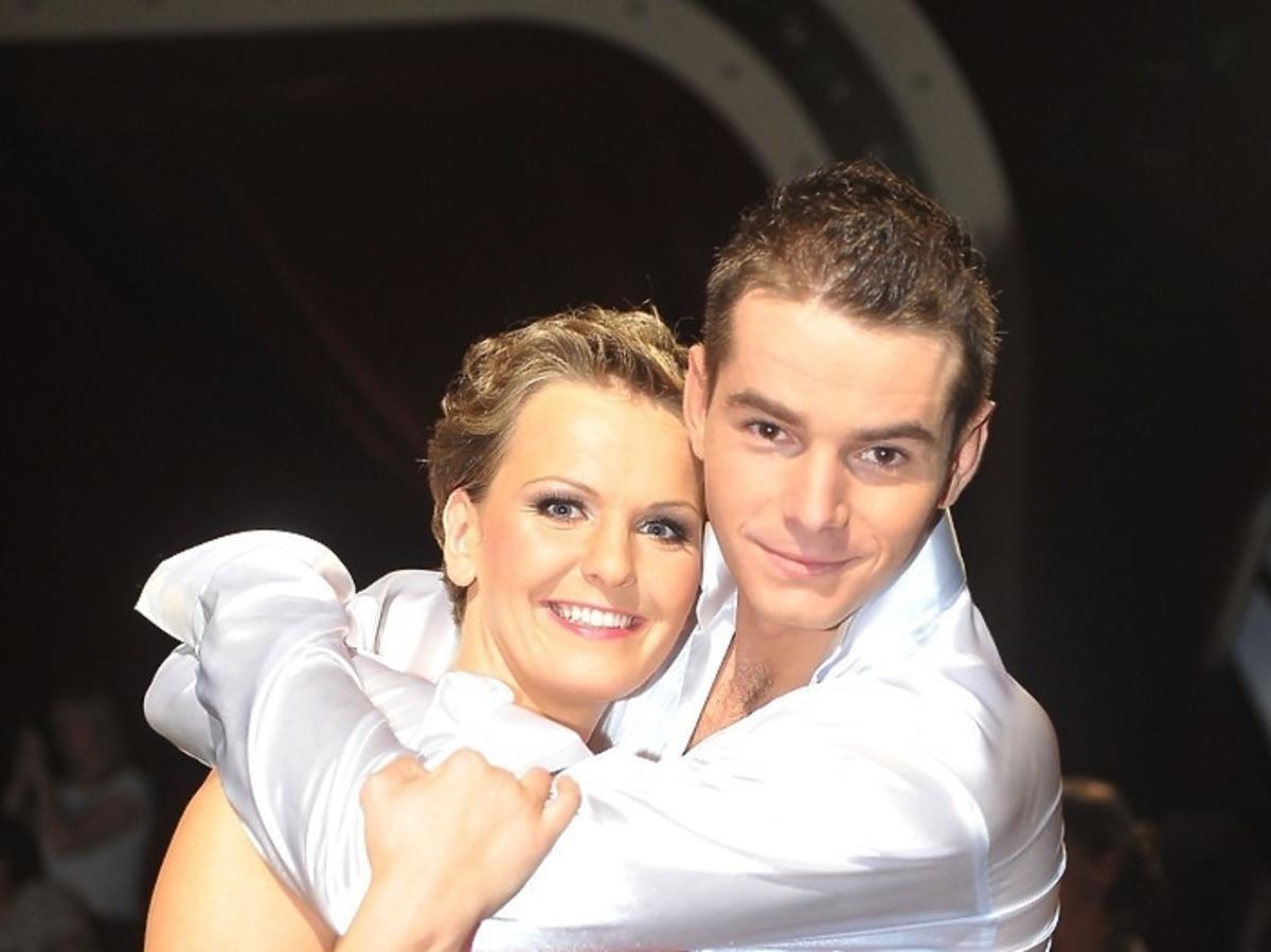 Sławek Turski i Otylia Jędrzejczak w Tańcu z Gwiazdami 2009