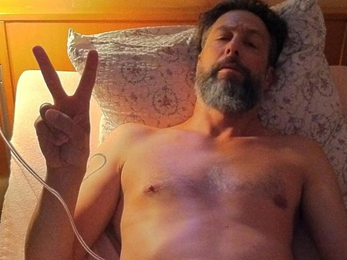 Szymon Majewski pokazał zdjęcie ze szpitala