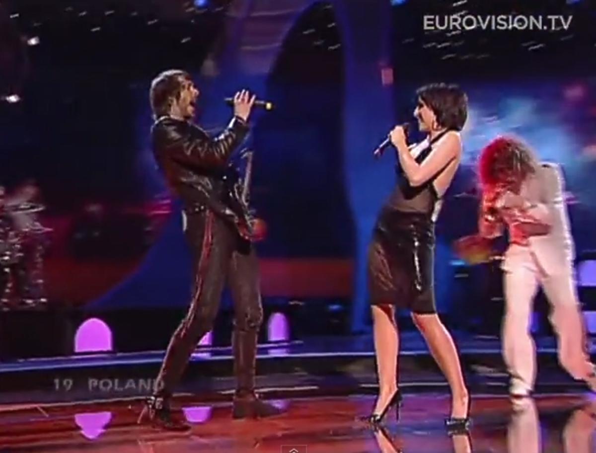 Tatiana Okupnik na Eurowizji 2004