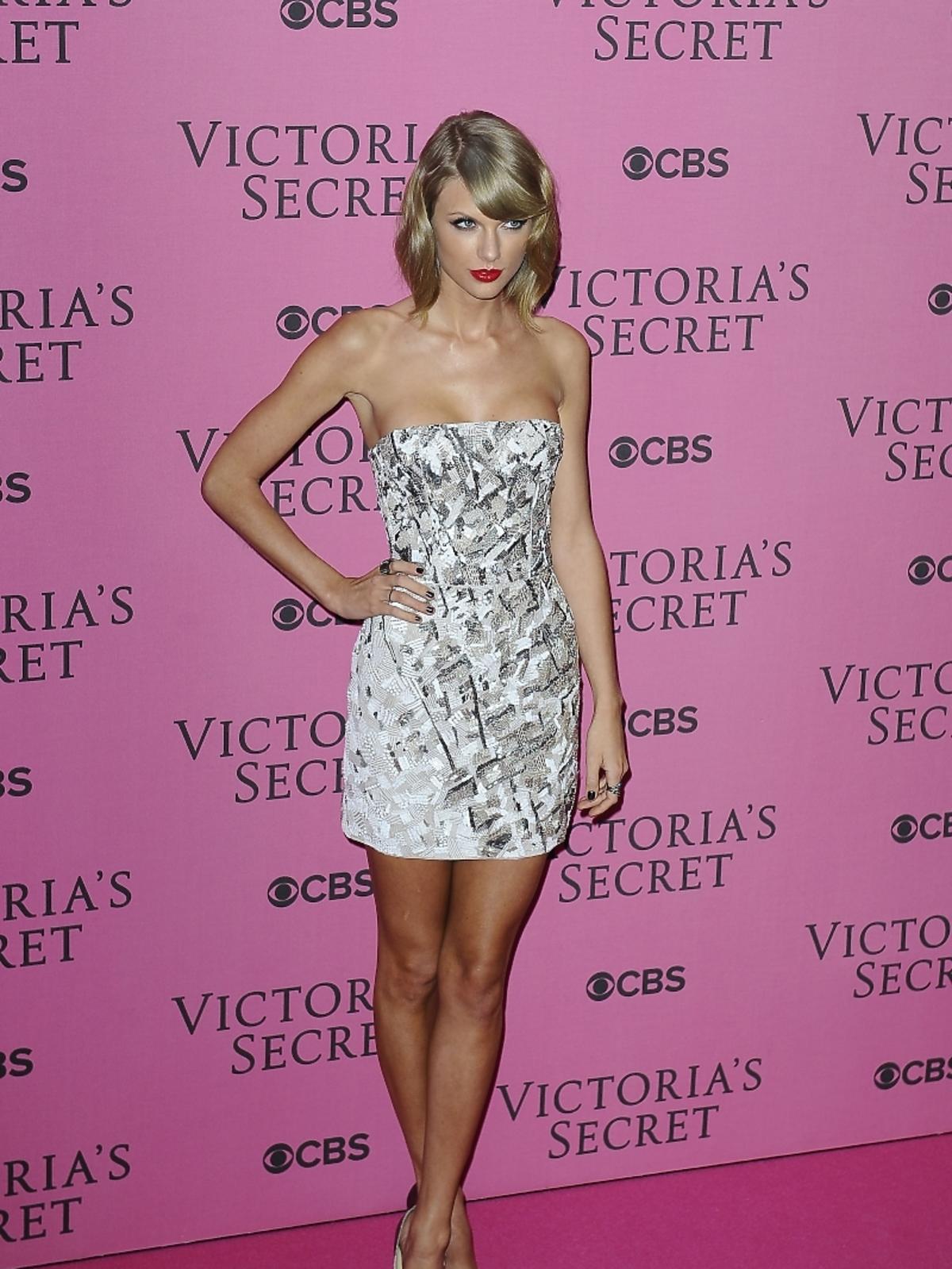 Taylor Swift na pokazie Victoria's Secret 2014