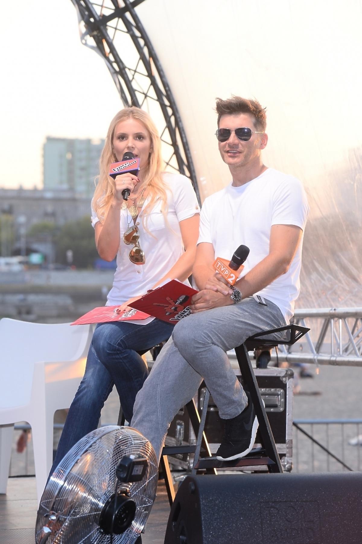 Tomasz Kammel i Halina Mlynkova
