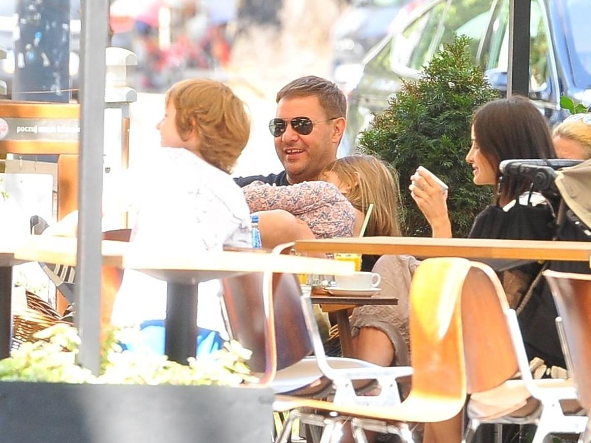 Tomasz Karolak z córką Leną