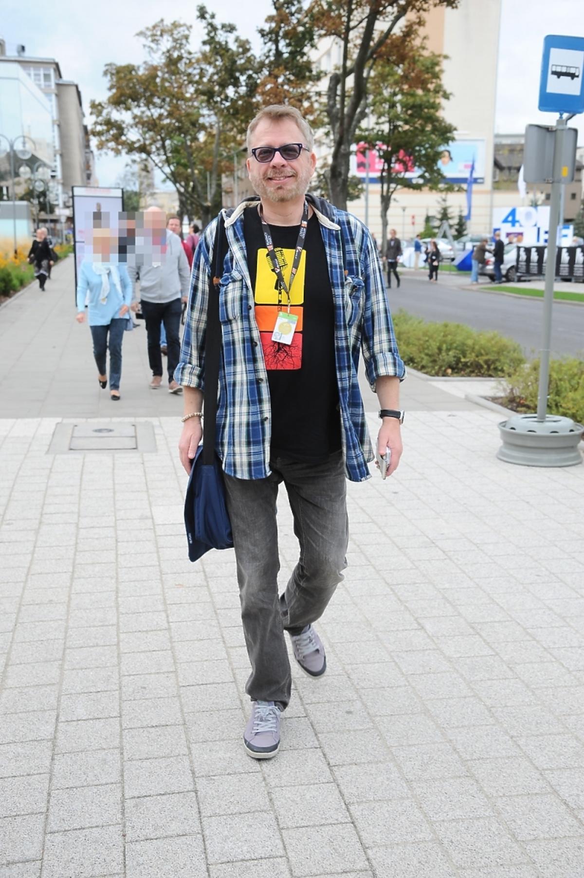Tomasz Raczek na Festiwalu Filmowym w Gdyni