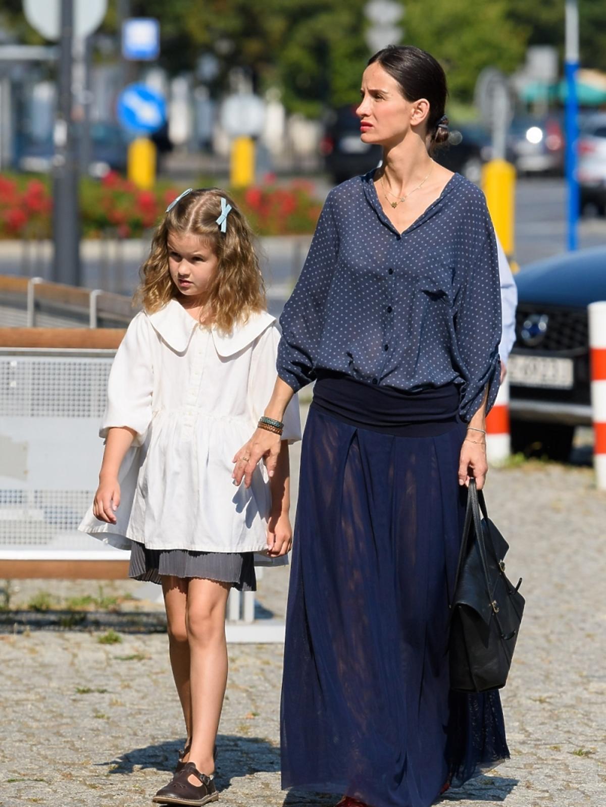 Viola Kołakowska z córką