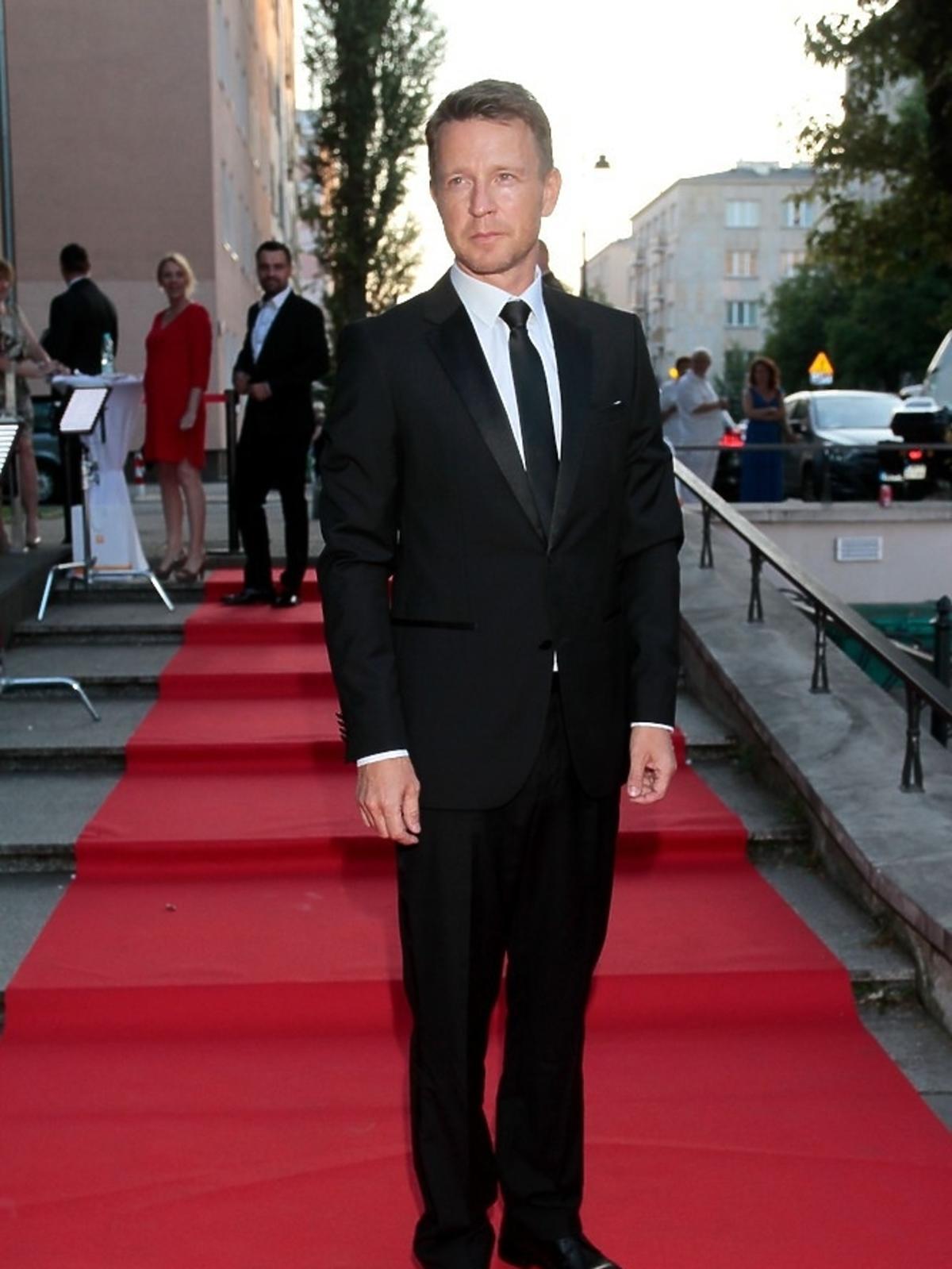 Wojciech Błach na premierze serialu