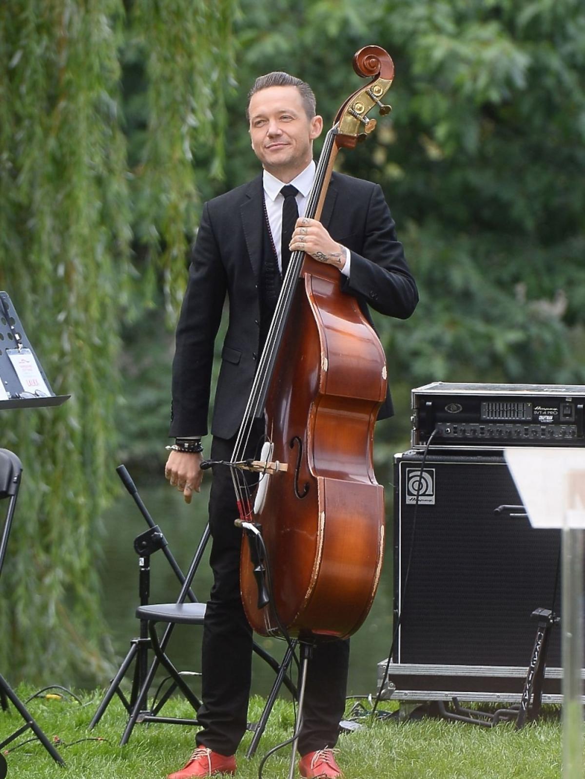 Wojciech Mazolewski na Narodowym Czytaniu