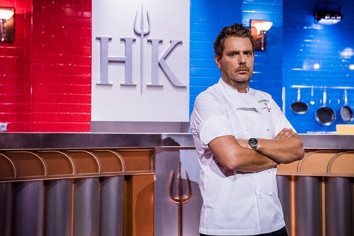 Wojciech Modest Amaro w Hell's Kitchen
