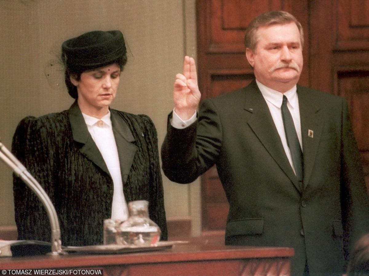 Zaprzysiężenie Lecha Wałęsy