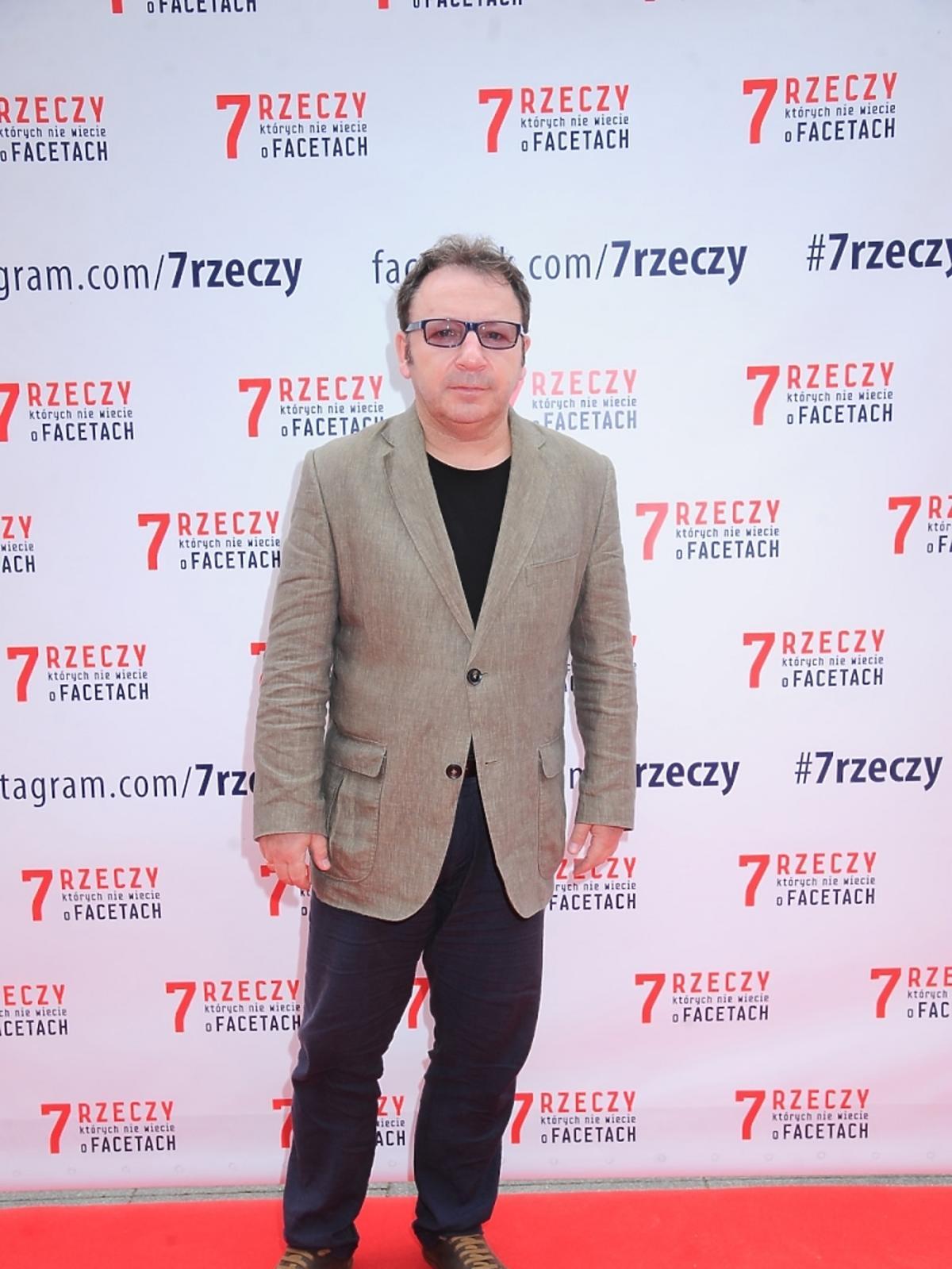 Zbigniew Zamachowski na spotkaniu z obsadą filmu