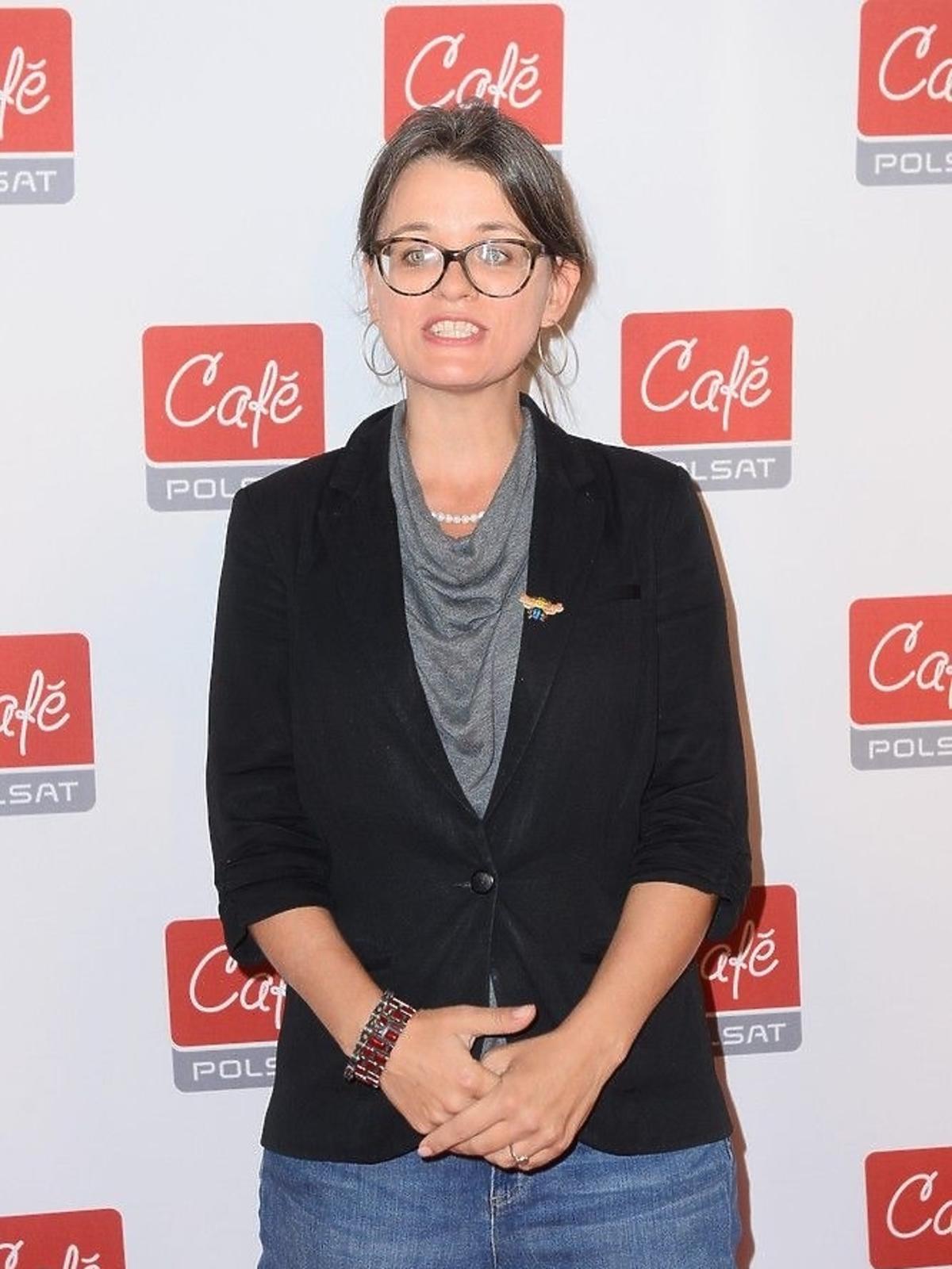 Zuzanna Ziomecka na konferencji Polsat Cafe
