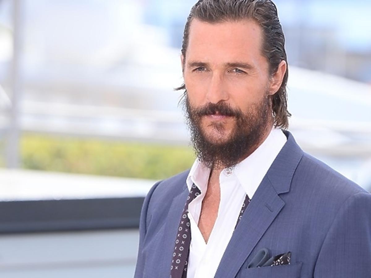 Matthew McConaughey z seksowną brodą