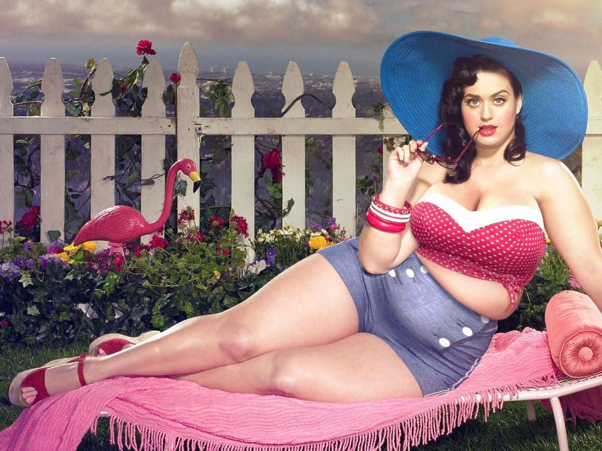 Katy Perry w kapeluszu