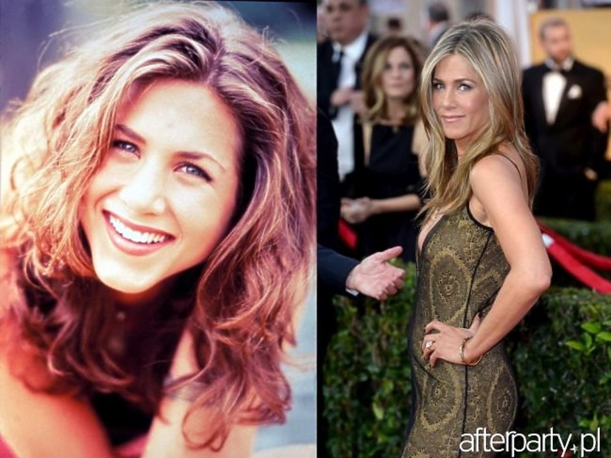 Jennifer Aniston w serialu Przyjaciele i jak wyglada teraz